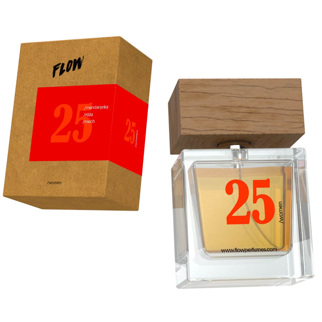 Flow Perfumes 25 THE RUSH RED 50ml inspiracja GUCCI RUSH