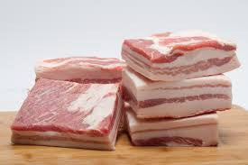 fresh unsliced pork belly (1.0 lb)