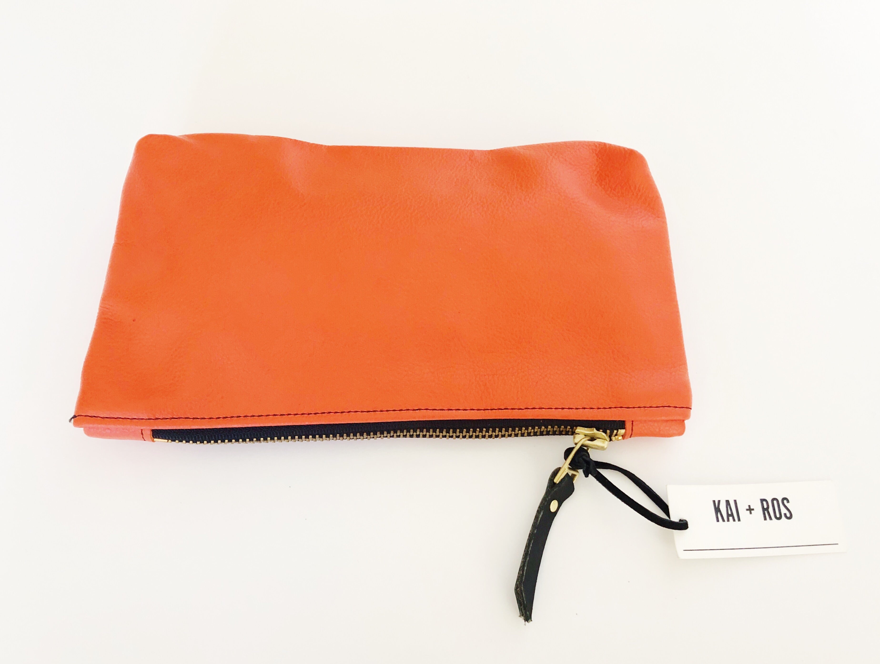 Orange Small Belle Pouch