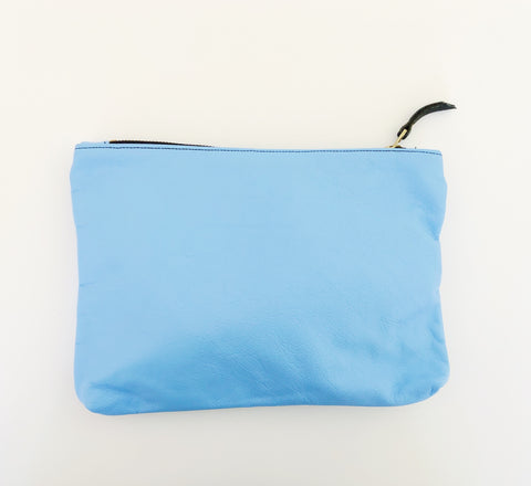 Medium Peri Blue Belle Pouch