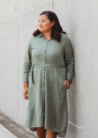 Josie Dress | Sage