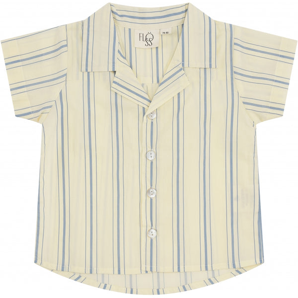 Flöss Aps Billy SS Shirts Shirt Dusty Stripe