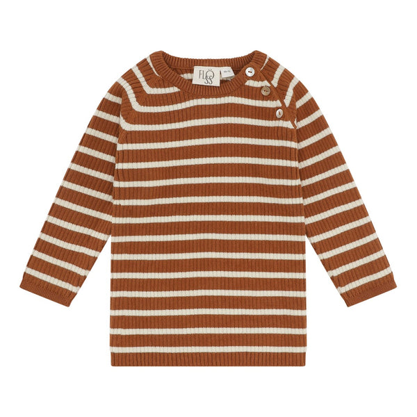Flöss Aps Flye Sweater Sweater Honey Stripe