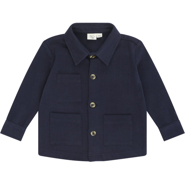 Flöss Aps Marley overshirt Shirt Navy noon