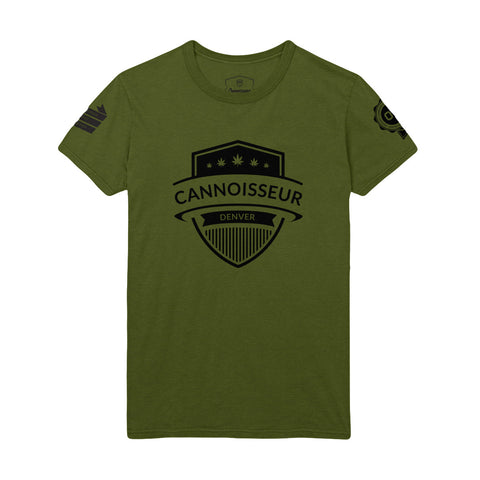 Cannoisseur® - 420 Limited Edition T-Shirt (Military Green)