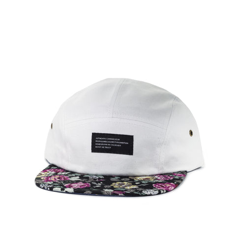 Cannoisseur® - Floral 5 Panel Camp Hat