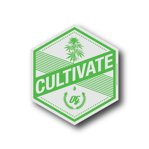Cannoisseur® - Cultivate Sticker