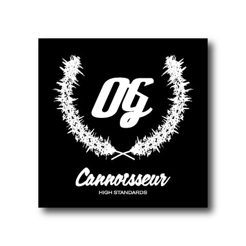 Cannoisseur® - Flagship OG Sticker