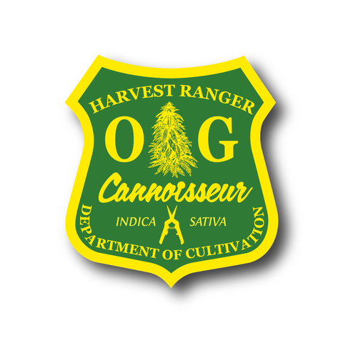 Cannoisseur® - Harvest Ranger Sticker