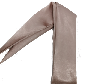 Blush Satin Hair Scarf