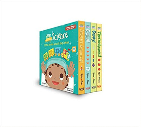 Science Board Book Set for kids