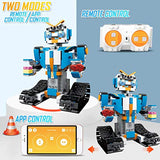 Modes of white STEM robot kit