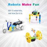 Electric Motor Robotic Science Kits for making robots in fun way