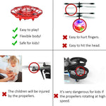 Play multiplayer games with flying drone toys