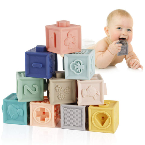 My Baby Soft Building Blocks 12 pcs
