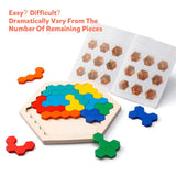 Wooden Hexagon Puzzle Online for Kids