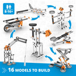 Joeys Mechanics Levers & Linkages -16 Models to Build