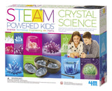 4M Deluxe Crystal Growing Combo Steam Science Kit - DIY Geology, Chemistry, Art, STEM Toys Gift for Kids & Teens, Boys & Girls [Amazon Exclusive] 4M Deluxe Crystal Kit