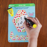 Boredom Buster | Erasable and Reusable Activity Mats | Developmental Play | Ages: 6-9yrs.