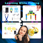 Electric Motor Robotic Science Kits to learn while playing