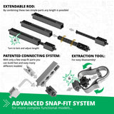 Advance Snap Ft System - Mechanics Gears & Worm Drives | 12 Working Models