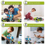 Advantages of white STEM robot kit