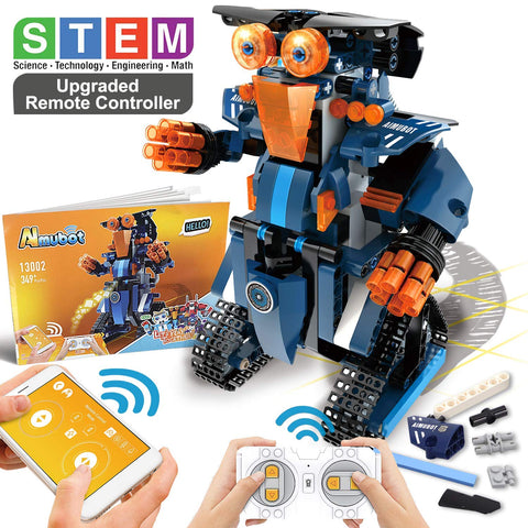 STEM Black Robot Kit