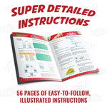 Super detailed instructions in Food Science STEM Chemistry Kit