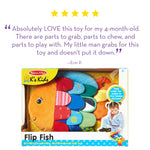 Flip Fish Baby Toy for developing creativity