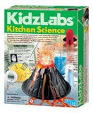 DIY Chemistry Experiment for kids using kitchen items