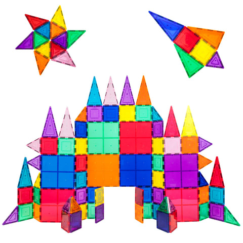 Picasso Tiles Magnet Building Tiles | Developmental Play + Engineering | Ages 3+