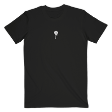 Load image into Gallery viewer, Black Drip Smiley Tee