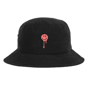 Drip Smiley Bucket Hat