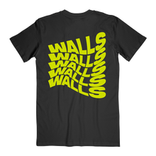 Load image into Gallery viewer, Smiley Walls Neon Yellow Logo Tee