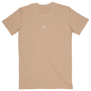 Peach Reflection Smiley Tee