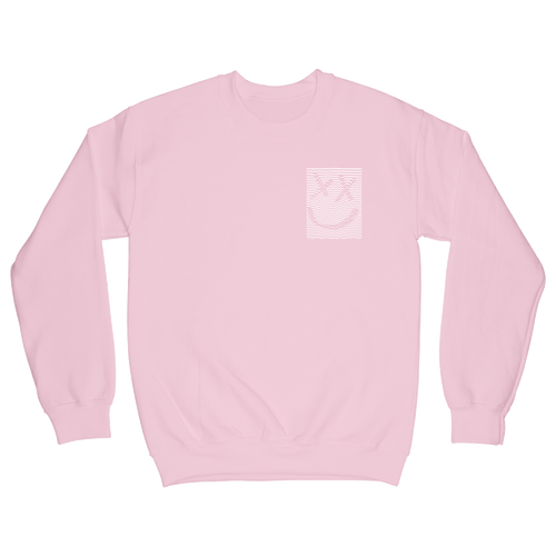 Pink Smiley Sweatshirt