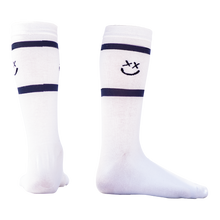 Load image into Gallery viewer, Smiley stripe socks
