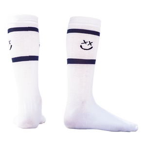Smiley stripe socks