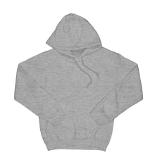 Load image into Gallery viewer, Reverse Smiley logo grey hoodie
