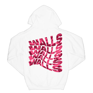 Smiley Walls Swirly Print Hoodie