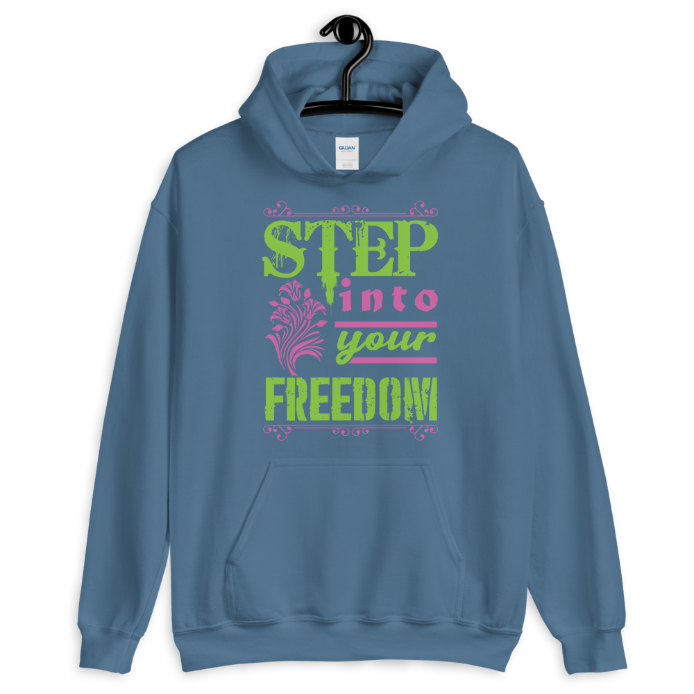 Step into your freedom