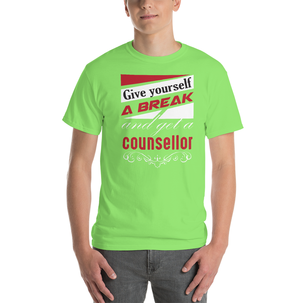 Give yourself a break and get a counselor