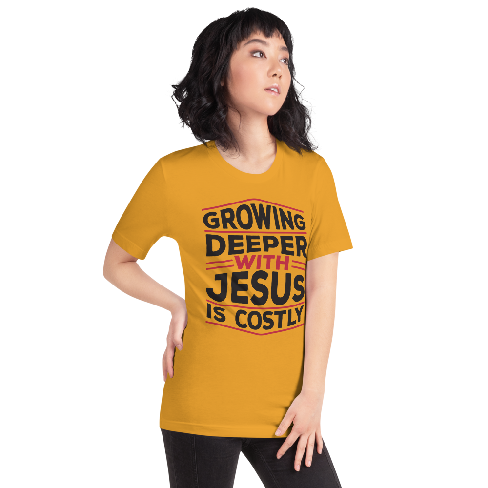 Growing deeper with Jesus is Costly