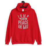 Jump into the peace in me