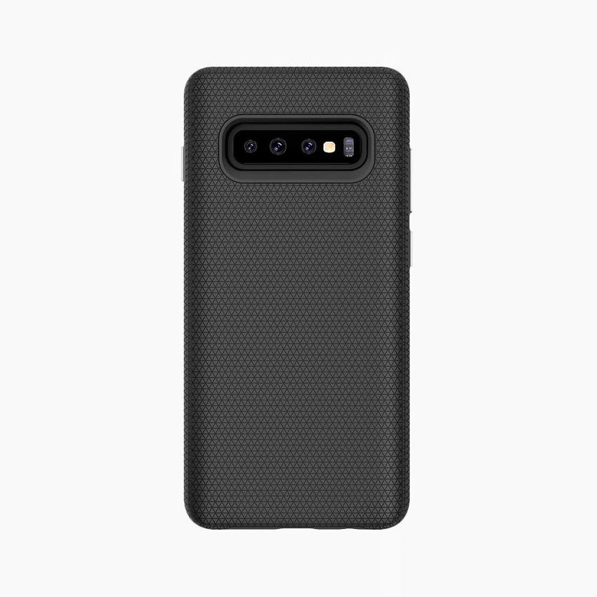 protective case for Samsung Galaxy S10+ with built-in magnets compatible with wireless chargers