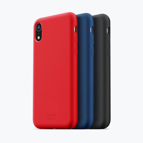 iPhone XR phone case soft silicone magnetic slim compatible with wireless charging iPhone XR case with magnetic back