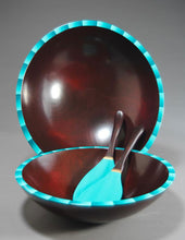 Load image into Gallery viewer, Ombre Kona Turquoise Bowl