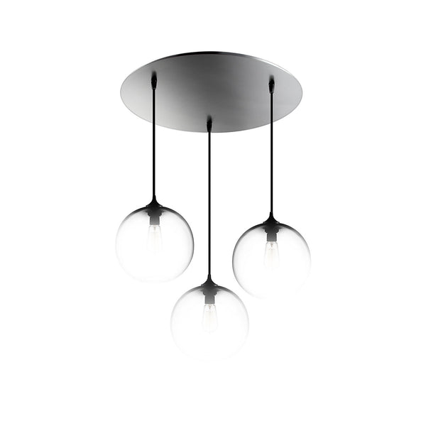 Brushed Stainless Circular-3 Canopy