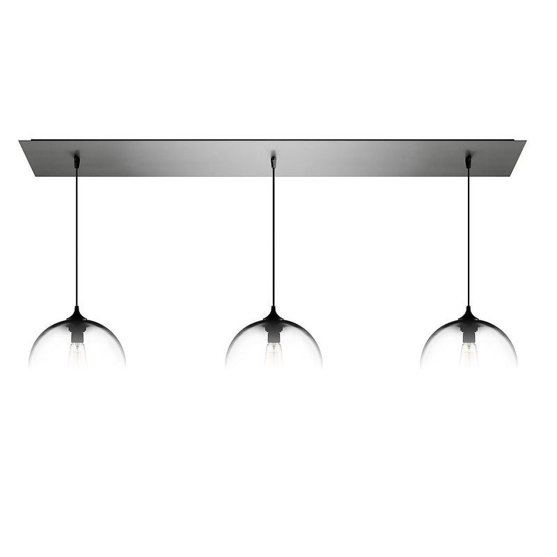 Brushed Stainless Linear-3 Canopy