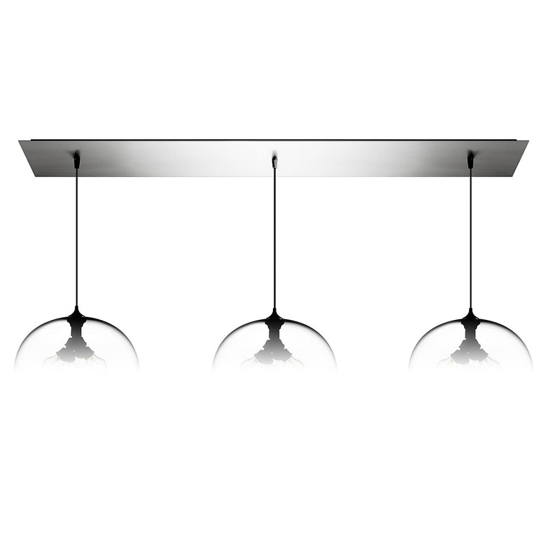 Polished Stainless Linear-3 Large Canopy